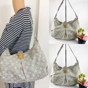 Louis Vuitton 🌺 Stylish Denim Shoulder Bag 🌺